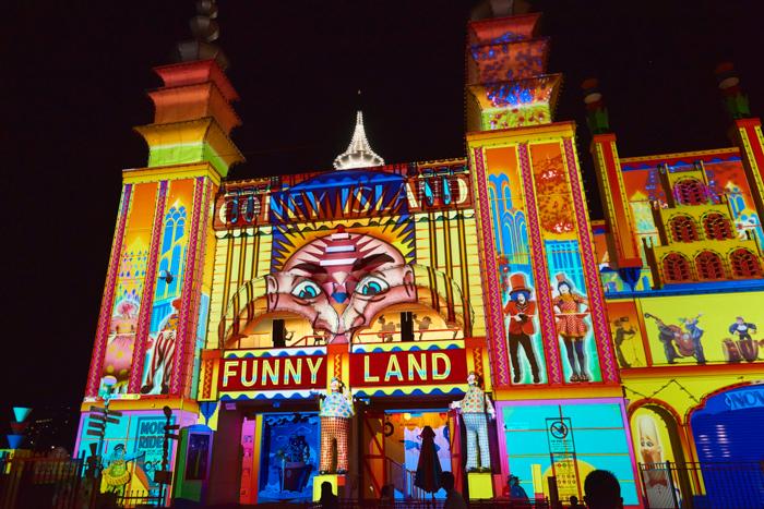 Vivid Sydney Luna Park