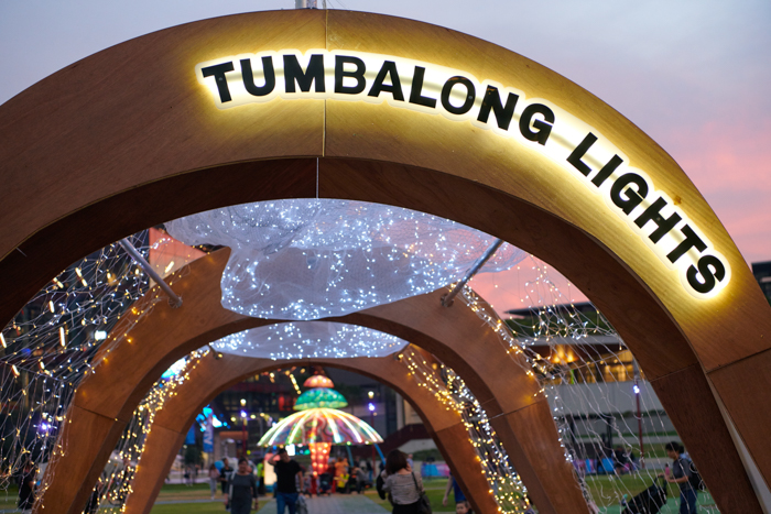Vivid Sydney Tumbalong Park