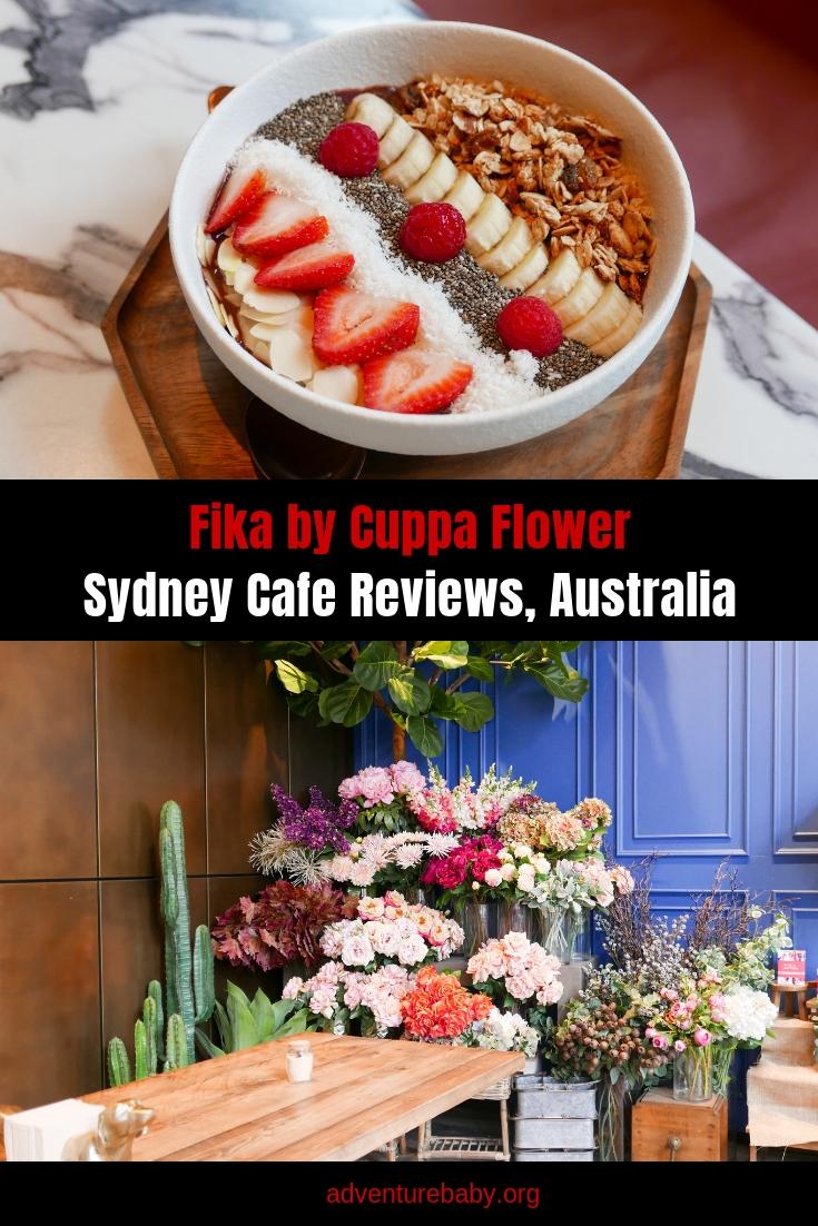Fika by Cuppa Flower, Sydney Cafes, Australia