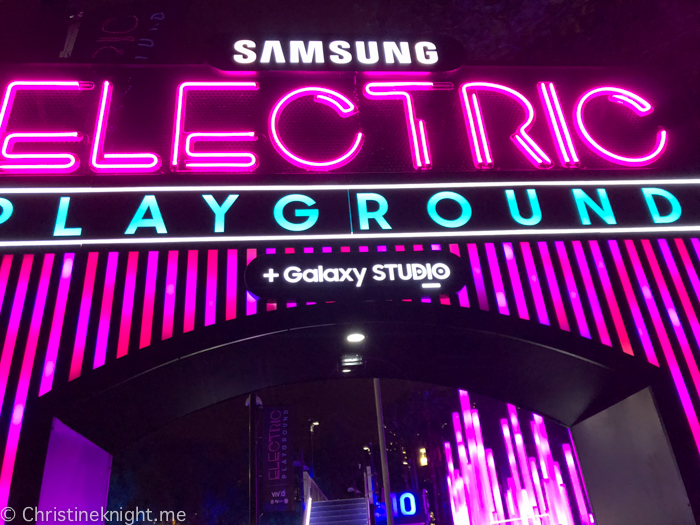 Vivid Samsung Electric Playground
