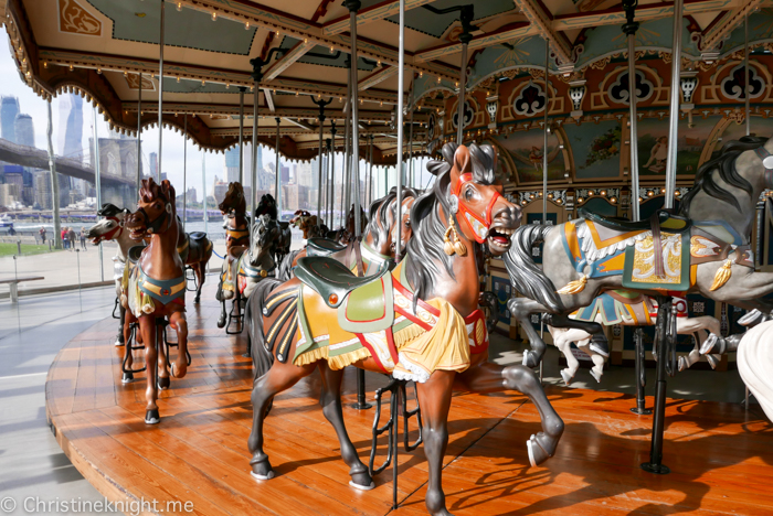 Jane's Carousel Brooklyn New York