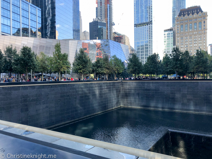 New York September 11 Memorial Pools