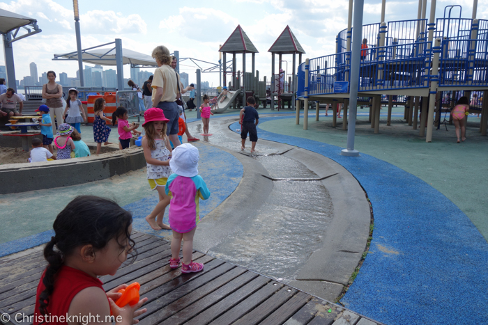 Pier 25 Playground New York