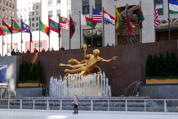 Rockefeller Center Ice Skating New York