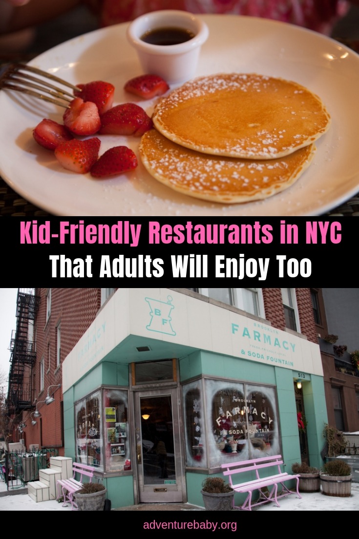 Kid-Friendly Restaurants in NYC That Adults Will Enjoy Too