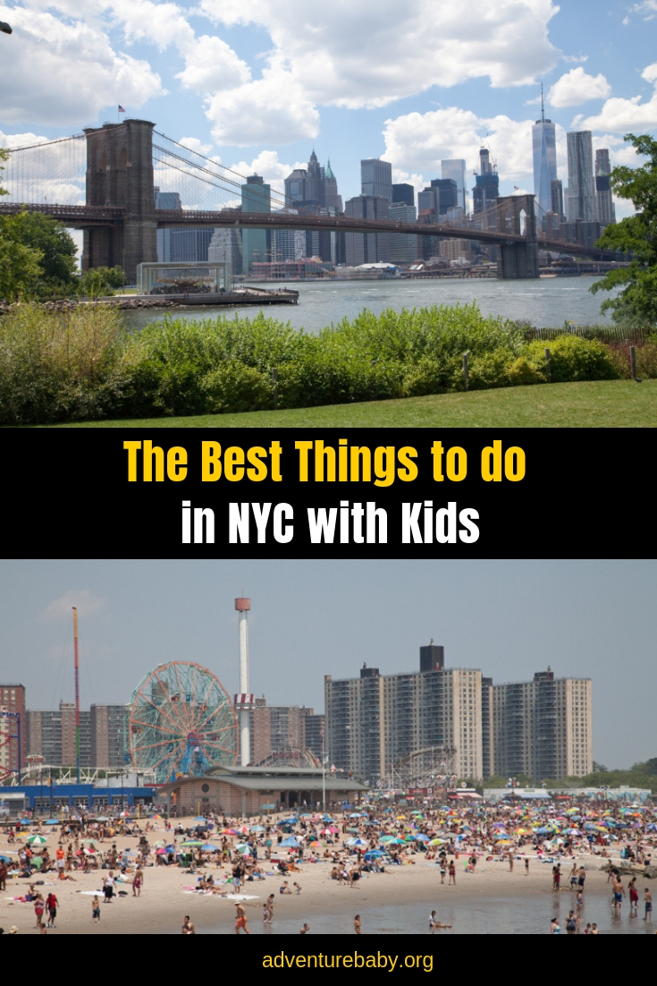 The Best Things do to in NYC with Kids