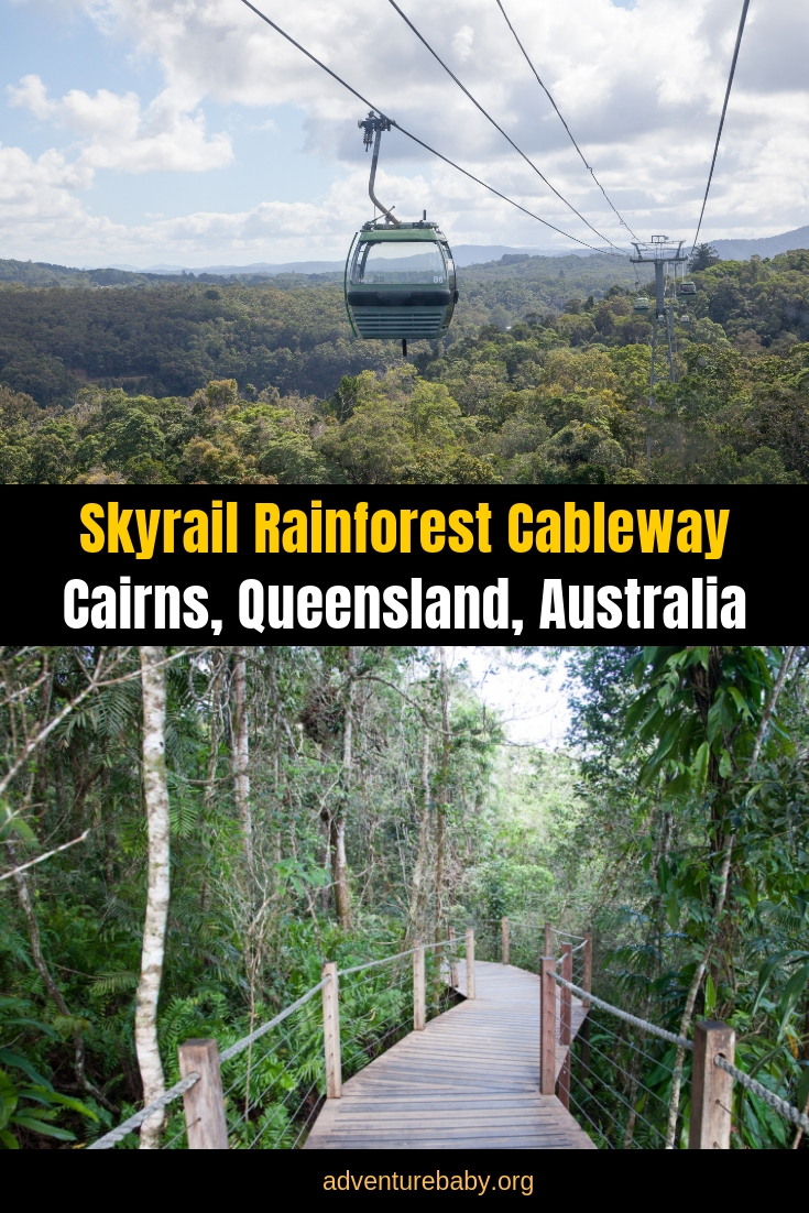Kuranda Skyrail Rainforest Cableway Qld Australia