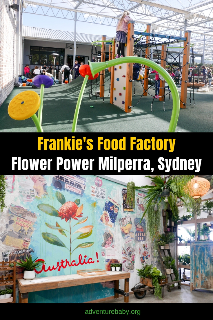 Frankie's Food Factory Flower Power Milperra Sydney