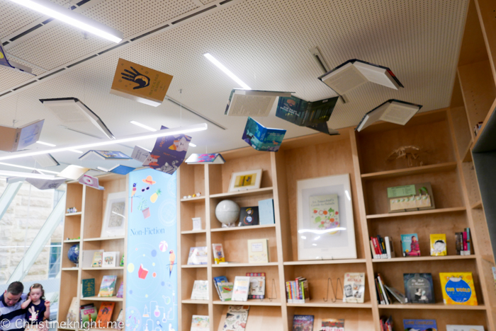 Children's Library and Family Spaces inside the State Library of NSW