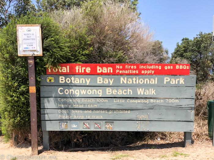 Congwong Beach, La Perouse, Sydney