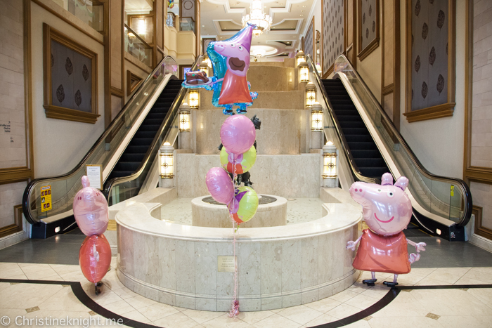 The Langham, Melbourne, Peppa Pig High Tea