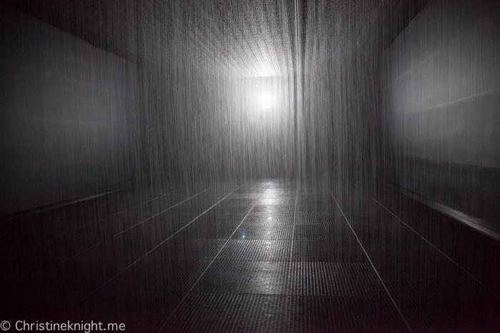 Rain Room Melbourne