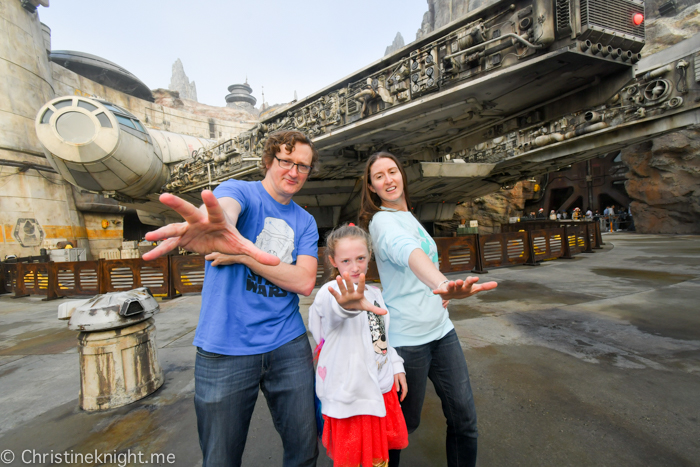 Galaxy's Edge, Disneyland California