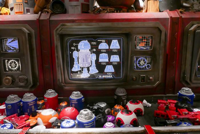 Droid Depot, Galaxy's Edge, Disneyland California