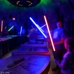 Savi's Workshop Lightsaber Building Experience, Disneyland Resort California