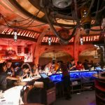 Inside Oga's Cantina at Star Wars: Galaxy's Edge, Disneyland Resort California