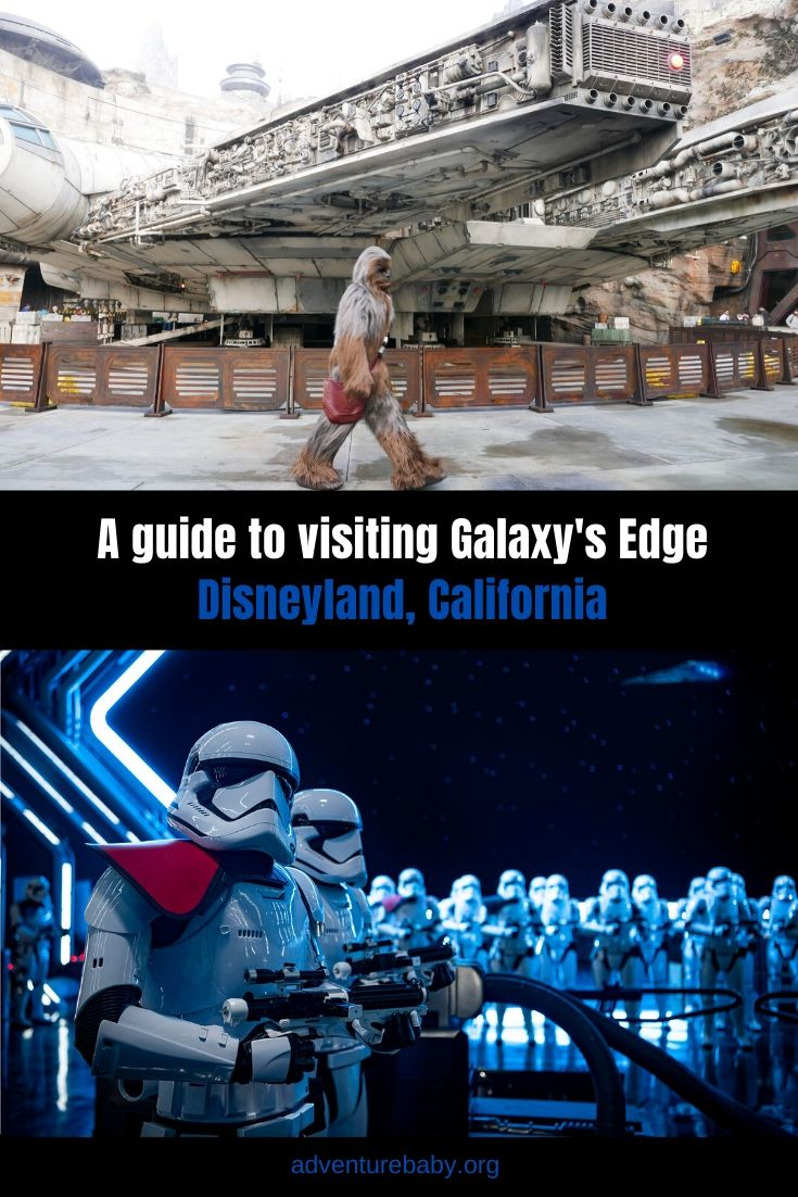 A guide to visiting Galaxy's Edge, Disneyland California