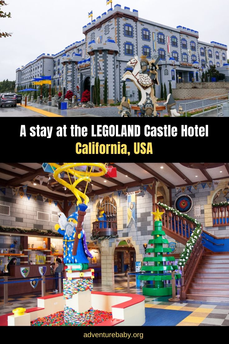 A stay at the LEGOLAND Castle Hotel, California