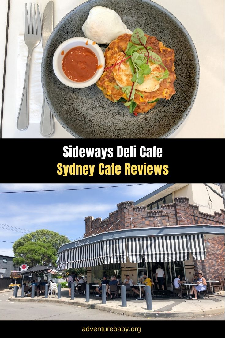 Sideways Deli Cafe, Sydney Cafe Reviews