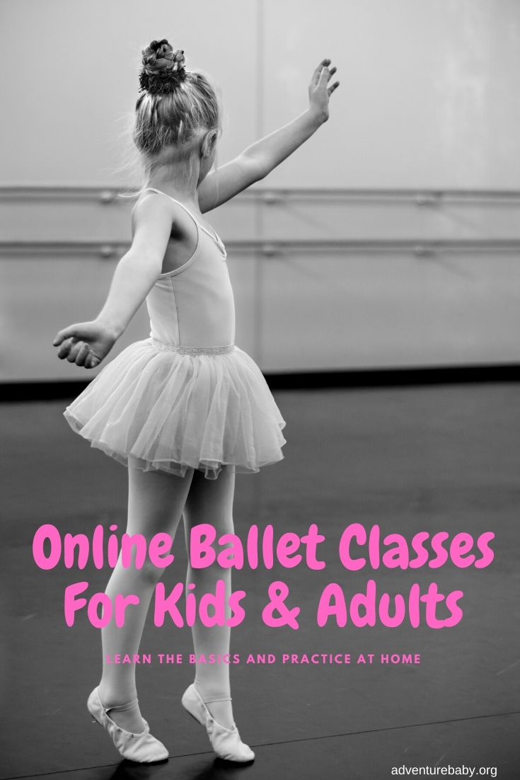 Online ballet classes for kids and adults