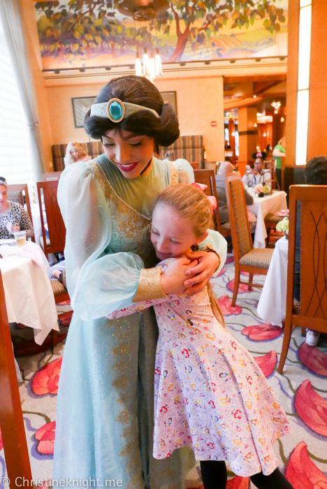 Disneyland Princess Breakfast Adventures Napa Rose California