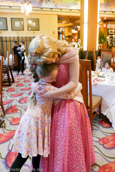 Disneyland Princess Breakfast Adventures Napa Rose California