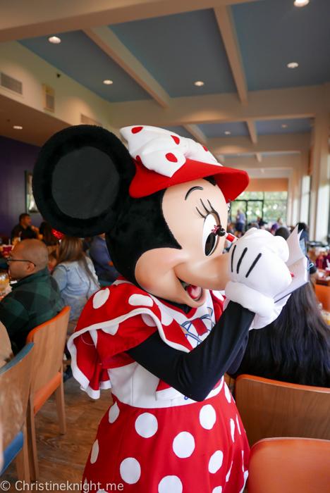 Donald's Seaside Breakfast, Disneyland California