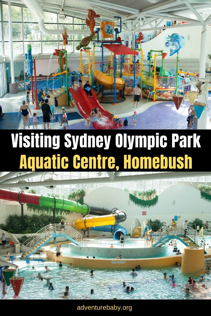 Visiting Sydney Olympic Park Aquatic Center