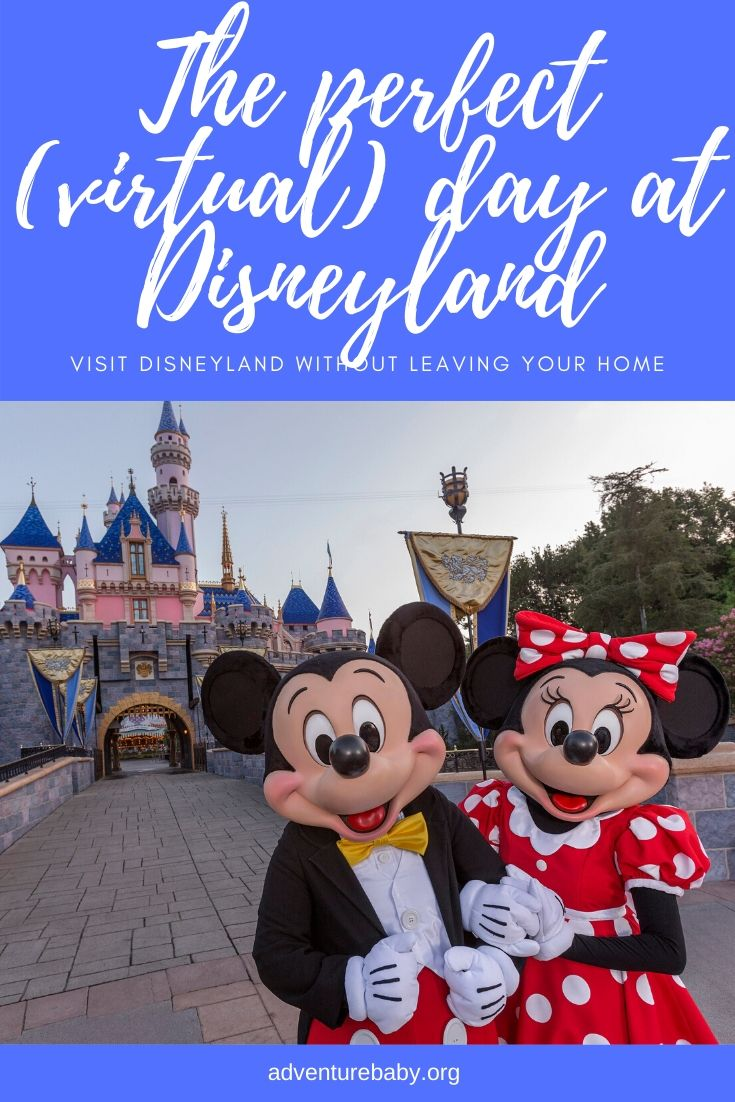 The perfect (virtual) day at Disneyland