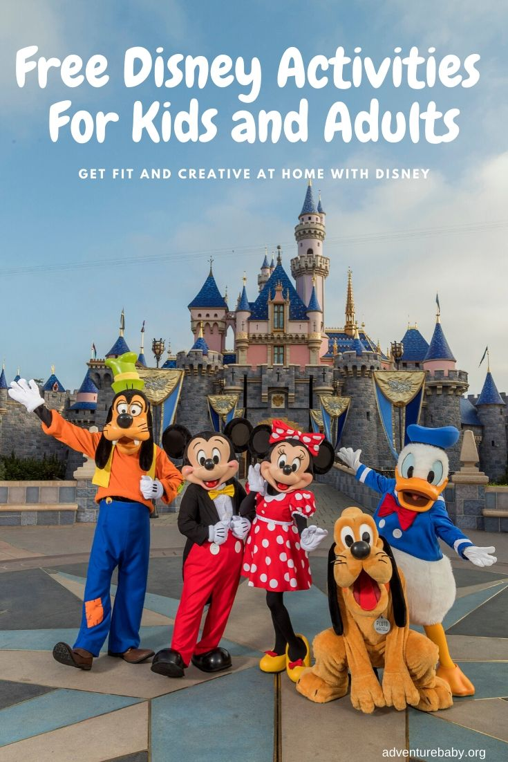 Disney Activities For Kids and Adults