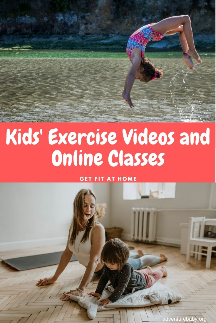 Kids Exercise Videos and Online Classes