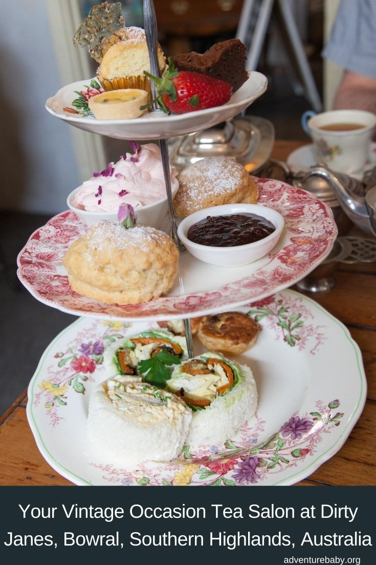 Your Vintage Occasion Tea Salon: Dirty Janes High Tea Bowral