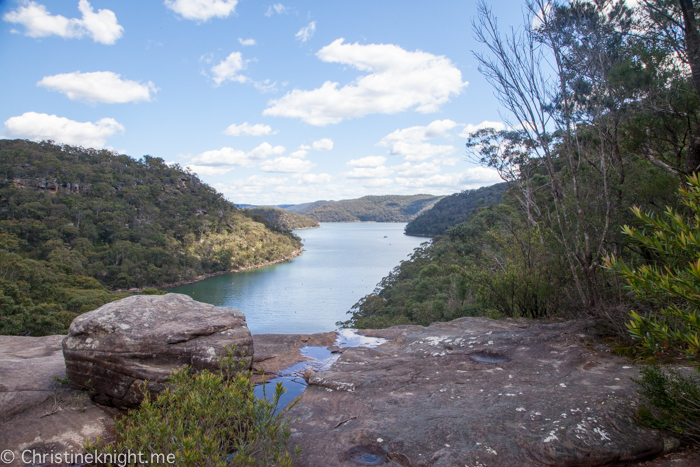 America Bay Track Ku-ring-gai Chase National Park Sydney Australia