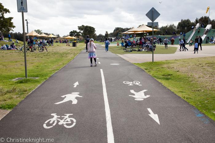 Blaxland Riverside Playground Sydney Olympic Park
