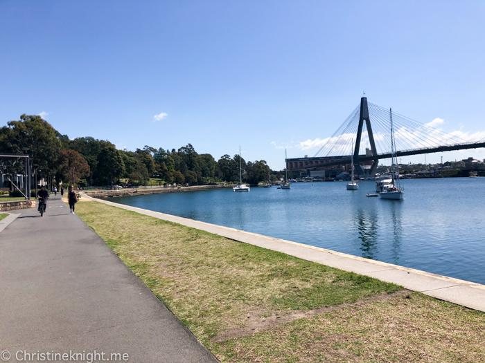 Glebe Foreshore Walk Sydney