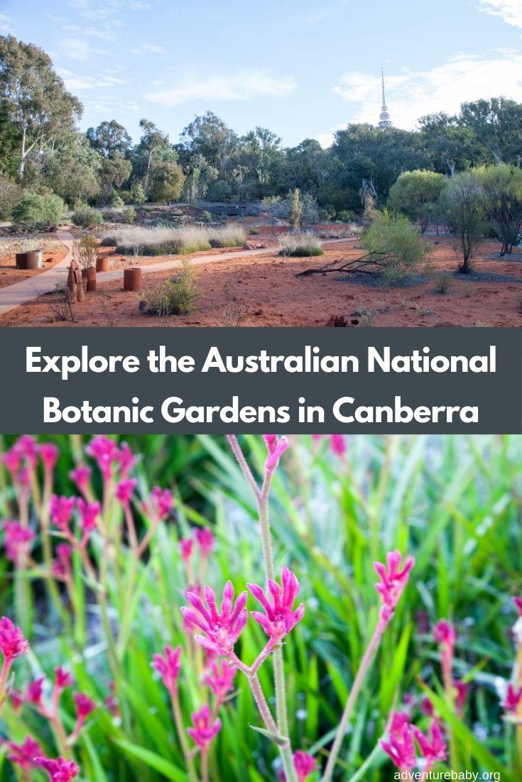 Australian National Botanic Gardens Canberra