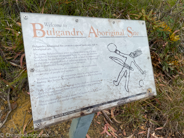 Bulgandry Aboriginal Engravings
