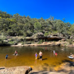 Take A Dip In The Jellybean Pool in the Blue Mountains National Park