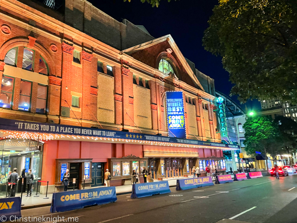 Come From Away Sydney